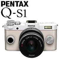 PENTAX ミラーレス一眼デジタルカメラ Q-S1 ズームレンズキット [ピュアホワイト×クリーム]