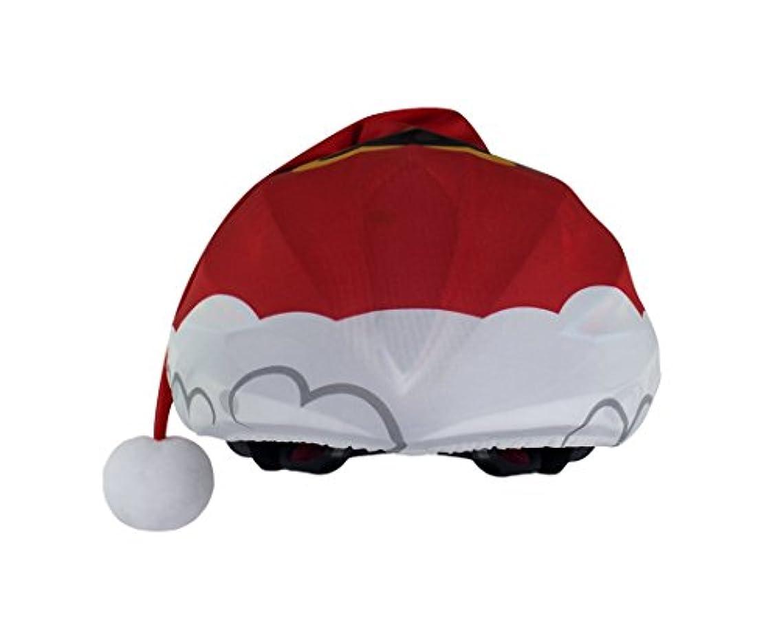 裸コントローラところでSanta - スノーボードサイクリング用クリスマスヘルメットカバー
