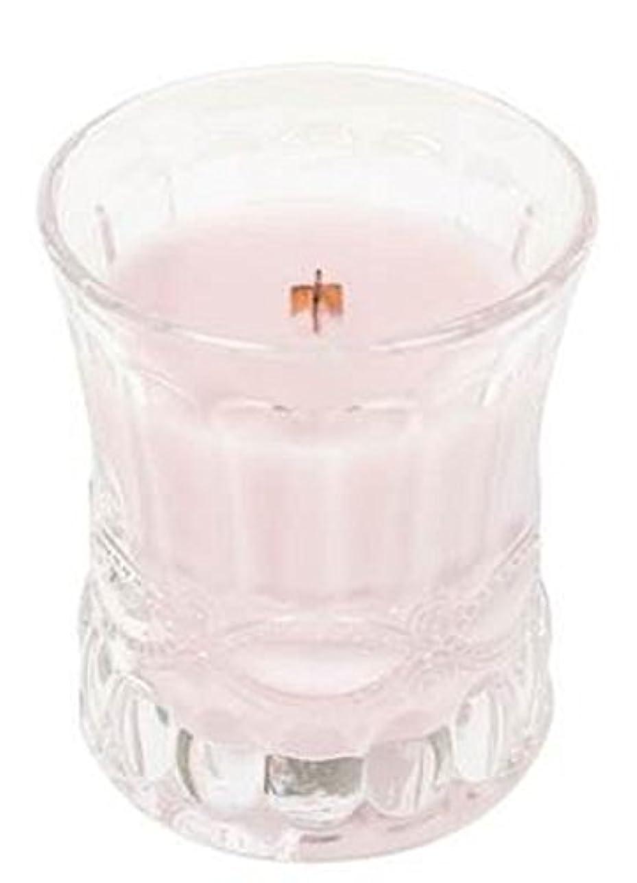 ミサイル吸収バナナローズバイオレット – カメオ砂時計WoodWick香りつきJar Candle