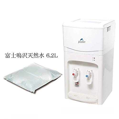 ジェイウォーター ウォーターサーバー スタートセット (ウォーターサーバー+富士鳴沢天然水6.2L×1パック) AJW-WSKN