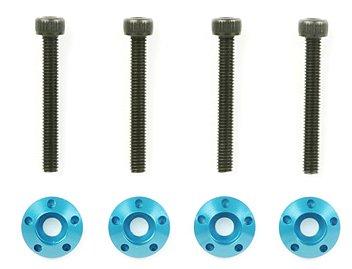 タムテックギア オプションパーツ OG.23 GB-01 ホイールボルト・カラーセット(ブルー) 40523
