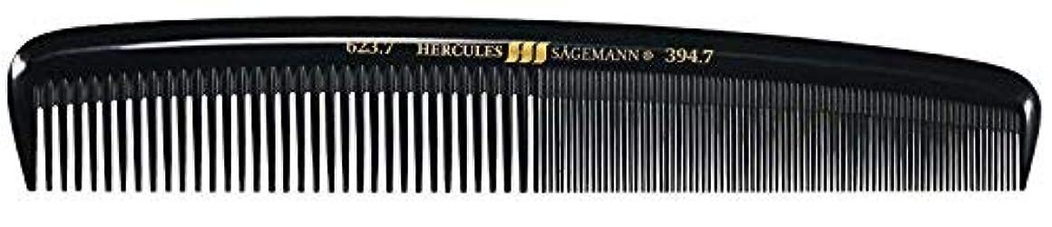 快適入口フェロー諸島Hercules S?gemann Large Gents Comb | Ebonite - Made in Germany [並行輸入品]