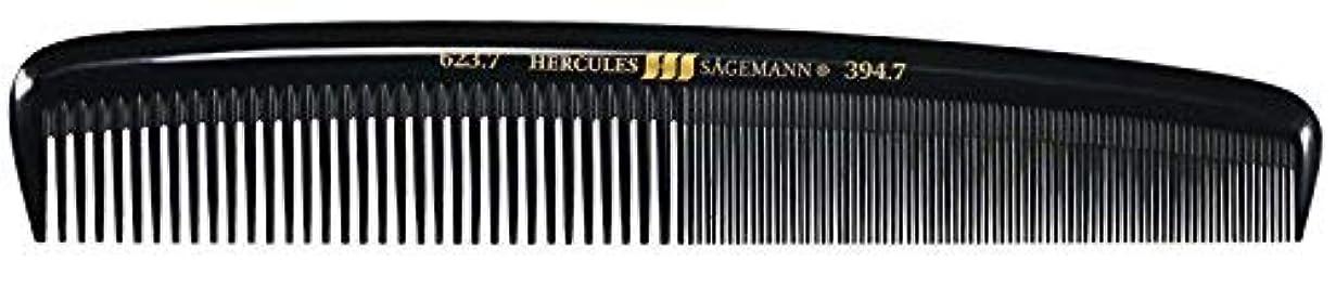 幻滅囲まれた一般的に言えばHercules S?gemann Large Gents Comb | Ebonite - Made in Germany [並行輸入品]