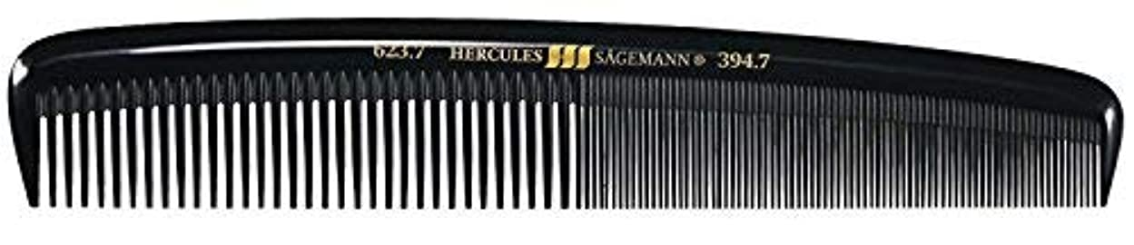 飾り羽振る取り戻すHercules S?gemann Large Gents Comb | Ebonite - Made in Germany [並行輸入品]