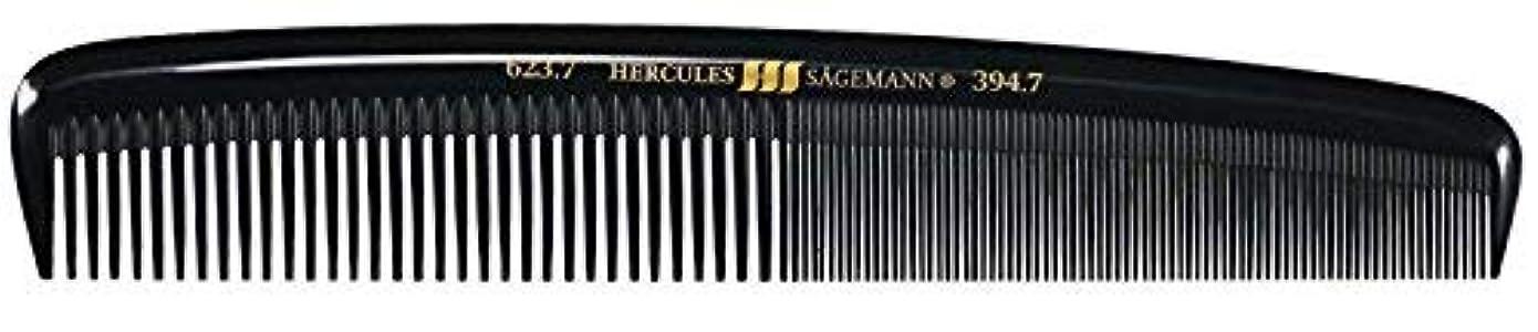 インレイ行列工場Hercules S?gemann Large Gents Comb | Ebonite - Made in Germany [並行輸入品]