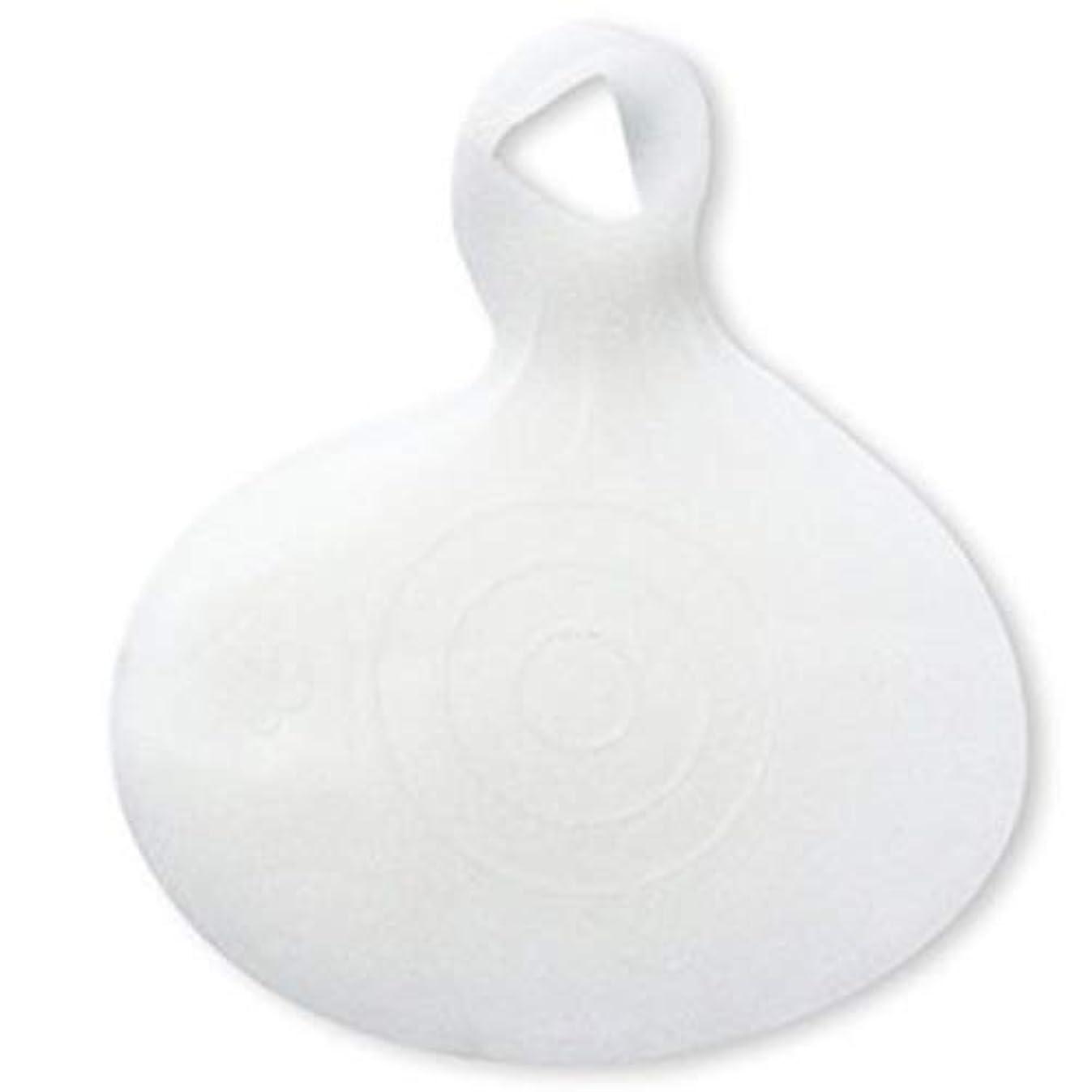 十分無限革新Bixiangji 1ペアシリコンインソールフロントフットパッドハイヒールシューズ滑り止めジェルパッド (Color : 白)
