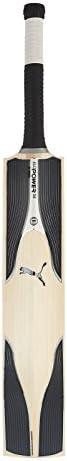 Puma, Cricket, Evopower Special Edition English Willow Cricket Bat, Senior, Black/White