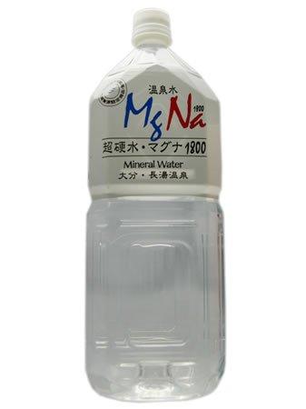 温泉水 MgNa(マグナ)1800 2L×6本