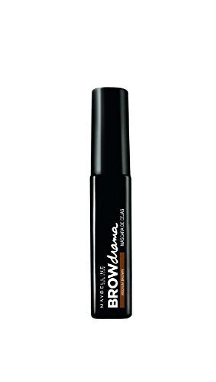 テロシチリア経過Maybelline Brow Drama Sculpting Brow Mascara - Medium Brown 7.6ml by Max Factor