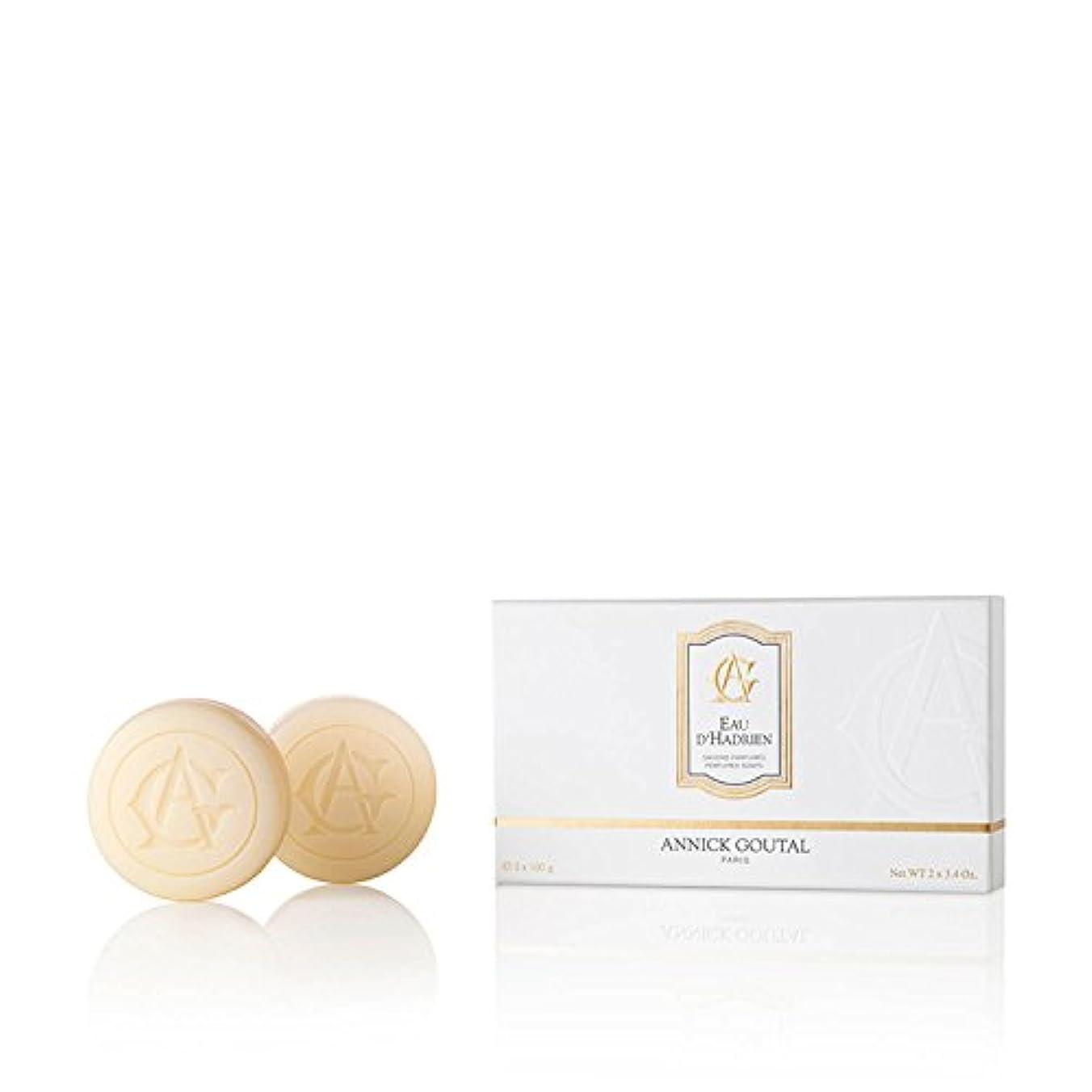 引く吸い込むジャベスウィルソンアニックグタール オーダドリアン ソープ 100g×2 ANNICK GOUTAL EAU D'HADRIEN SOAP [並行輸入品]