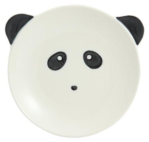美濃焼 アニマルプレート パン皿 パンダさん
