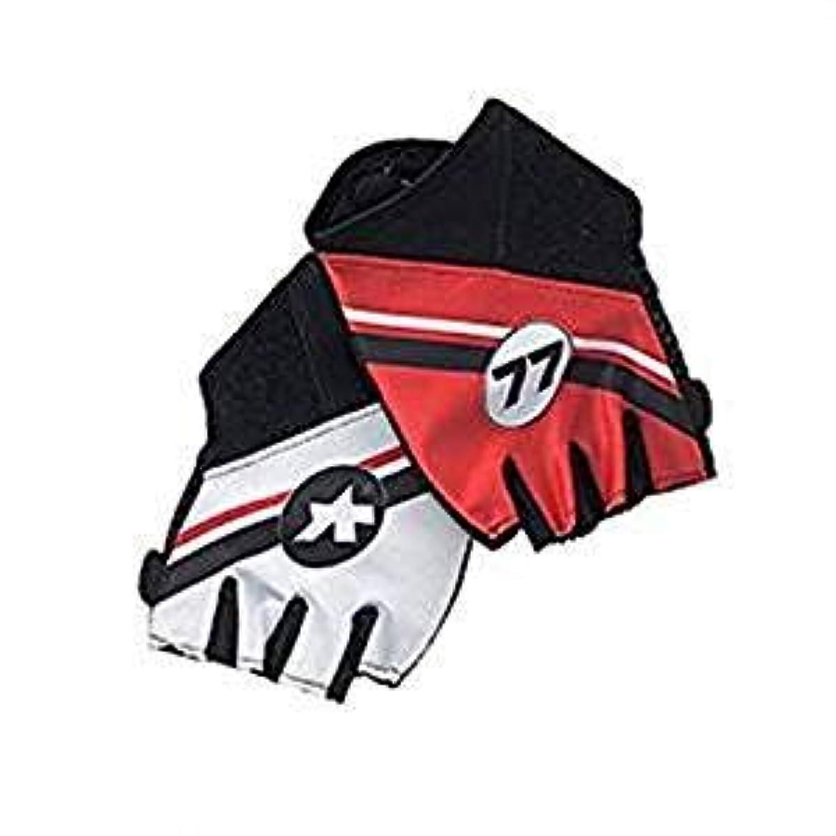 保守可能フェロー諸島追うAssos Six-Days Summer Glove 赤 アソス シックスデイズ サマーグローブ Size XL [並行輸入品]