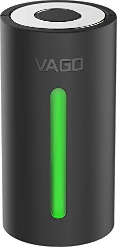 VAGO 超小型 空気圧縮マシン 出張 海外旅行 国内旅行 遠征 合宿 収納 引っ越し TVD1/TVB 別売り圧縮パック (本体(ブラック)Mサイズ袋1枚付属)