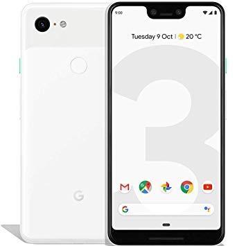 Google docomo Pixel 3 XL 128GB Clearly White SIMロック解除済み