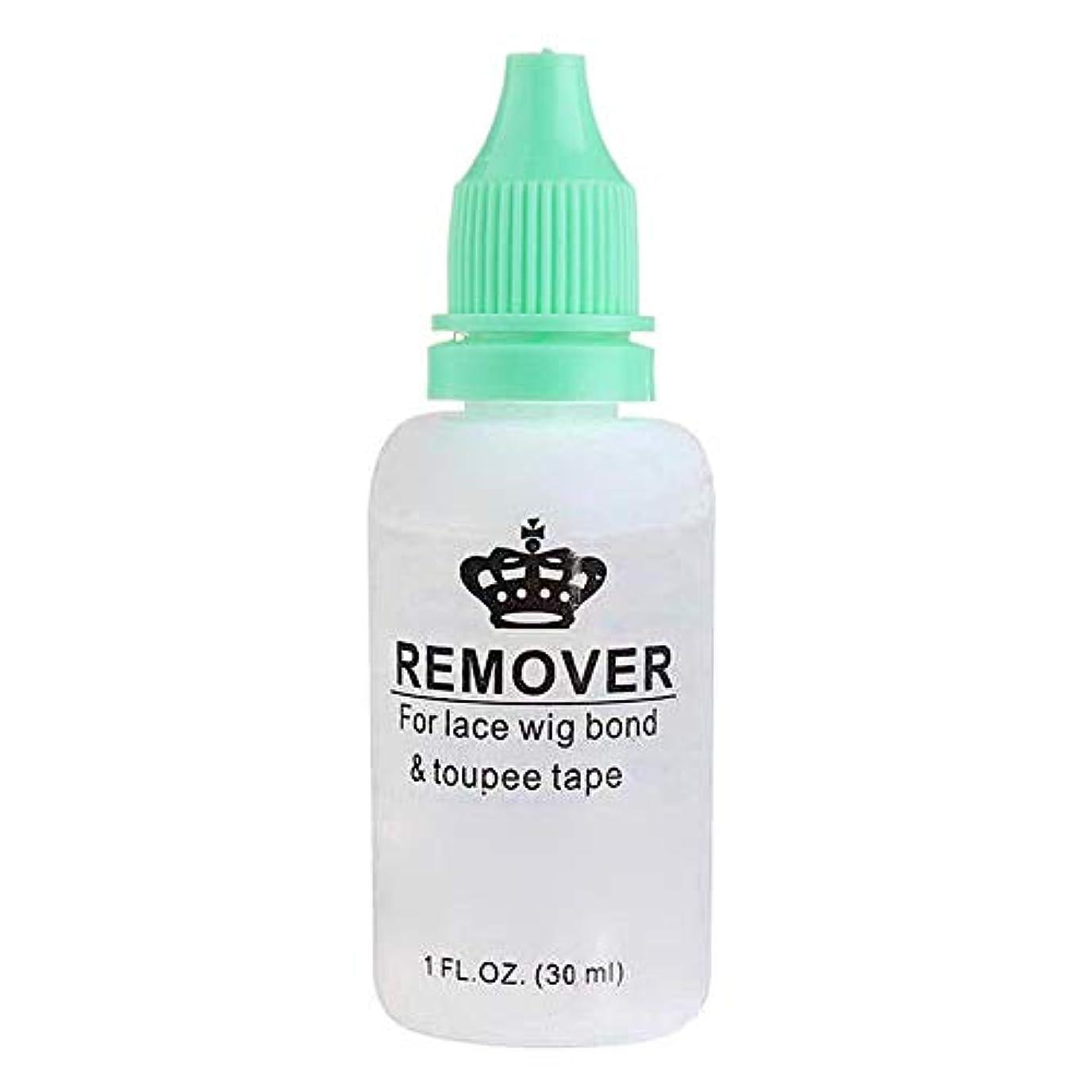 すべき仕方圧倒的AIMERKUP 毛のりの除去剤、レースのかつらのToupeeの皮のよこ糸のテープのための極度の毛の付着力の除去剤の接着剤の除去剤のびん adaptable