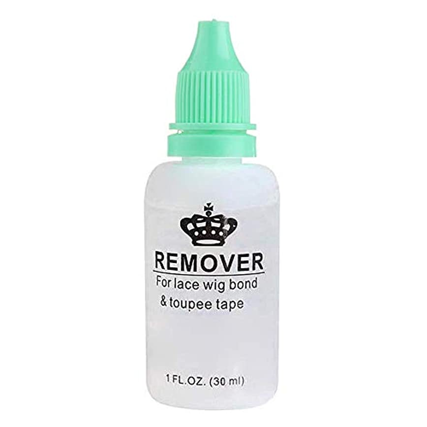 グローバルオアシス爆発物AIMERKUP 毛のりの除去剤、レースのかつらのToupeeの皮のよこ糸のテープのための極度の毛の付着力の除去剤の接着剤の除去剤のびん adaptable