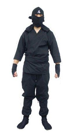本格大人用忍者スーツセット Lサイズ