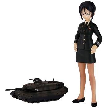 ピットロード ガールズ&パンツァー 蝶野 亜美 一等陸尉&陸上自衛隊10式戦車 (PD09)