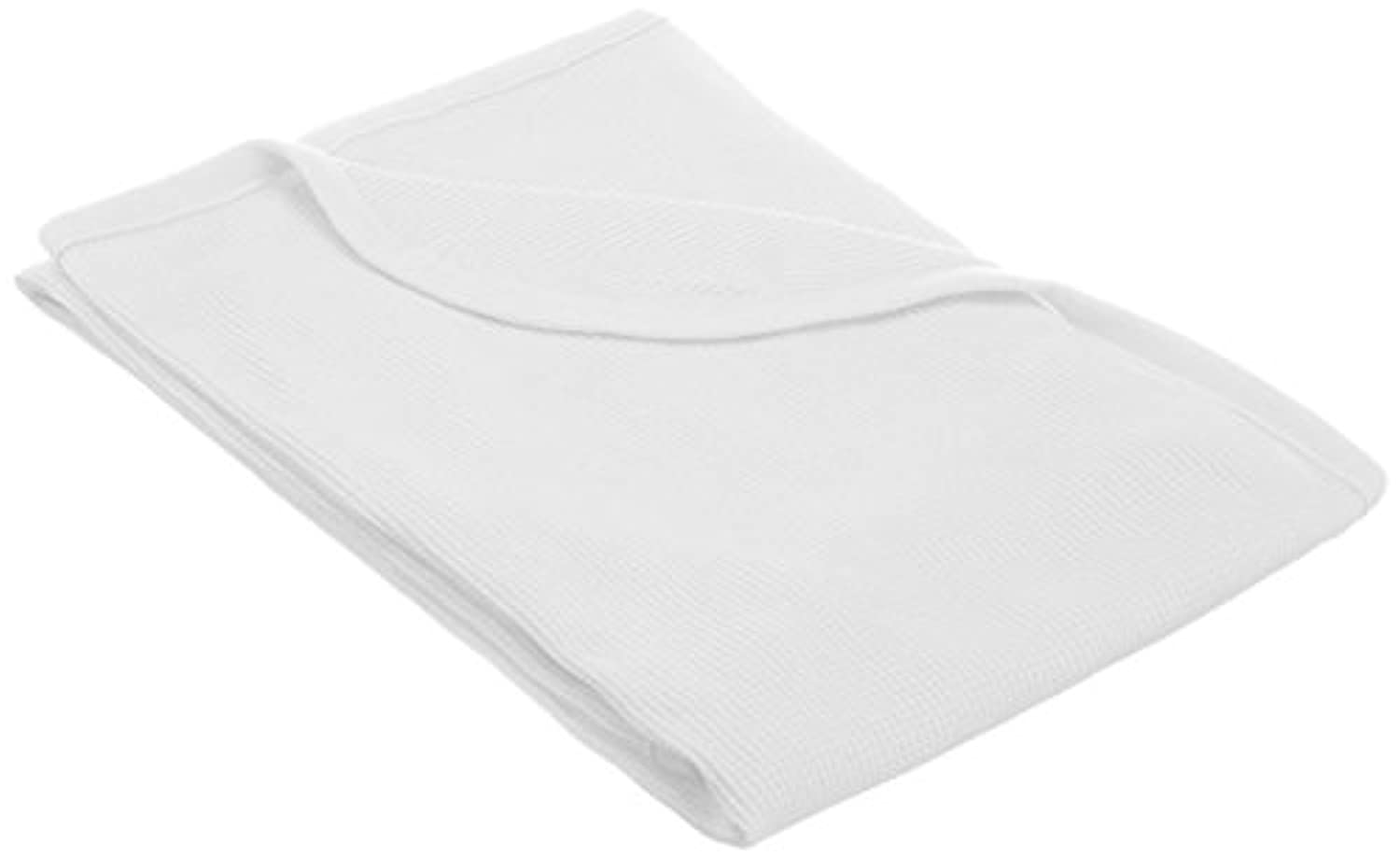 TL Care 100% Cotton Swaddle/Thermal Blanket, White by TL Care