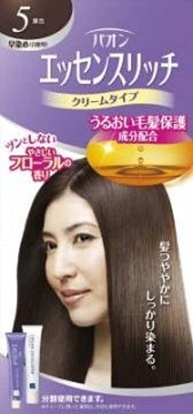 【シュワルツコフヘンケル】パオン エッセンスリッチ クリームタイプ 5 栗色 ×3個セット