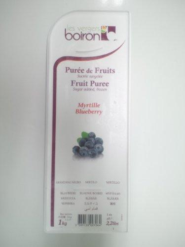 【 業務用 】 boiron ( ボワロン ) ピューレ ミルティユ 1kg