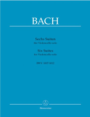 バッハ, J. S. : 無伴奏チェロ組曲 BWV 1007...