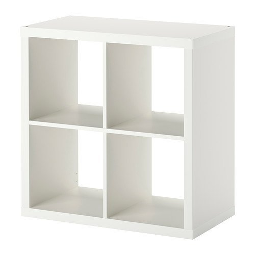 RoomClip商品情報 - IKEA KALLAX シェルフユニット ホワイト 77×77cm 30275842
