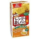森永製菓 レンジで蒸しパン カレー&ほうれん草 88g×48(6×8)箱入