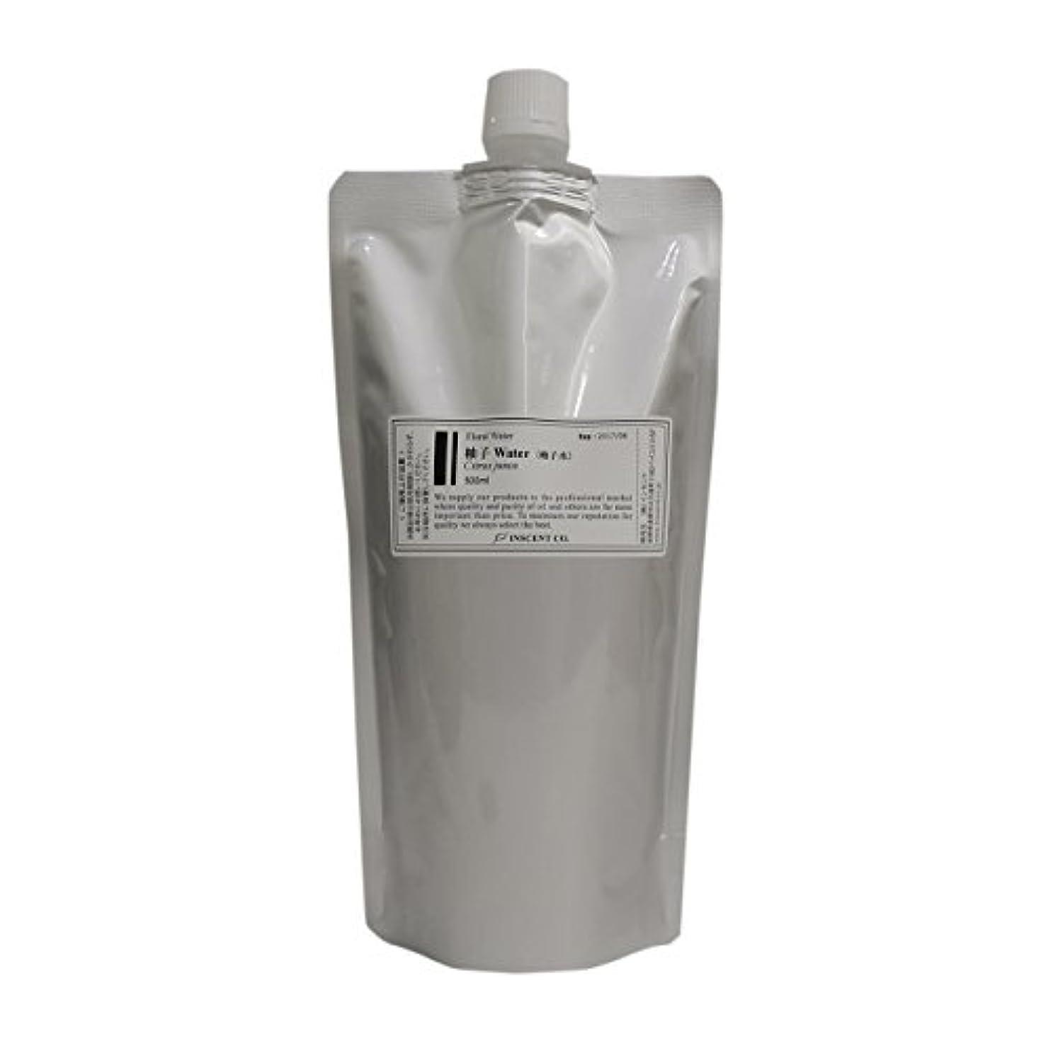 アリインフルエンザテレックス(大容量500ml/詰替用アルミパック入り) 柚子 (ゆず) ウォーター (柚子水) 500ml