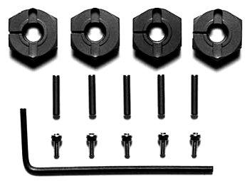 HOP-UP OPTIONS OP-570 クランプ式アルミホイールハブ(4mm厚)