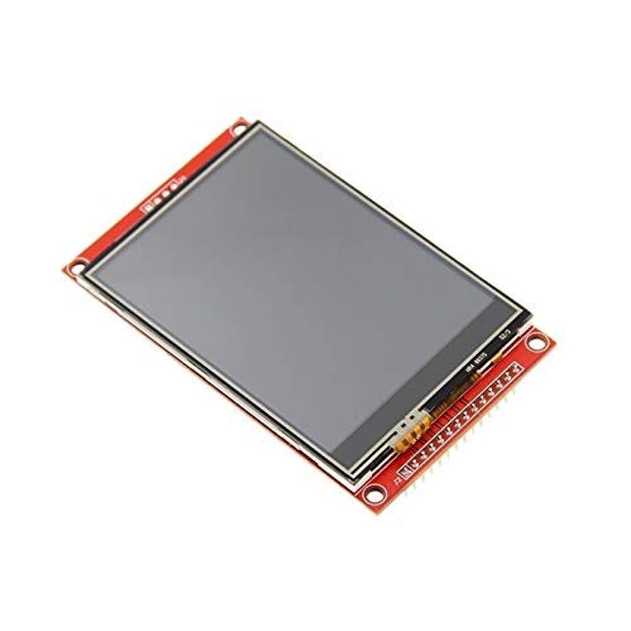 胃発行滴下Yadianna プレスパネルと3.2 320x240のMCU SPIシリアルTFT LCDモジュールの表示画面ビルドでドライバーILI9341