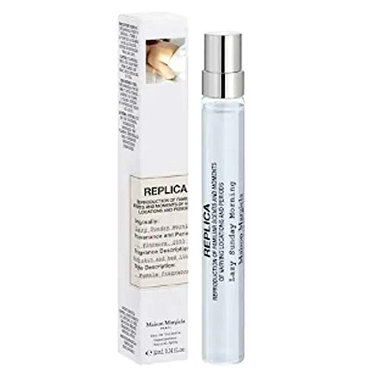 ごみアマチュア一月Maison Martin Margiela (メゾンマーチンマルジエラ)'REPLICA' Lazy Sunday Morning 10 mL Eau de Toilette Travel Spray [海外直送品]...