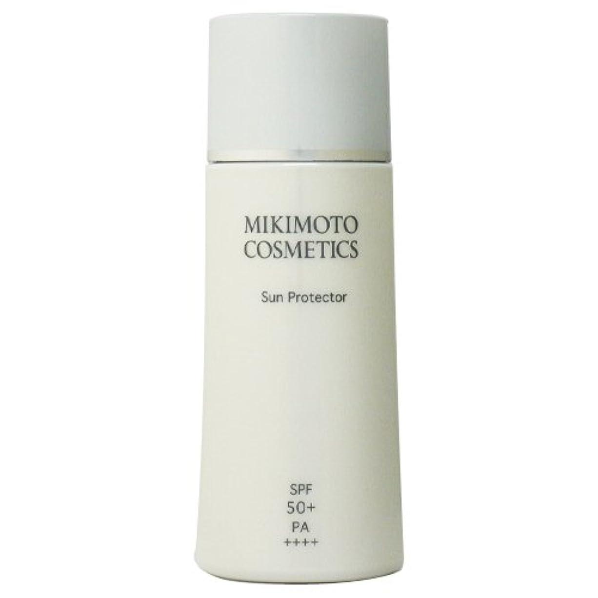 外交問題シーフードアブセイミキモト化粧品 MIKIMOTO コスメティックス サンプロテクター SPF50+ PA++++ 40mL [ヘルスケア&ケア用品]
