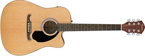 Fender エレキアコースティックギター FA-125CE Dreadnought Natural, Rosewood