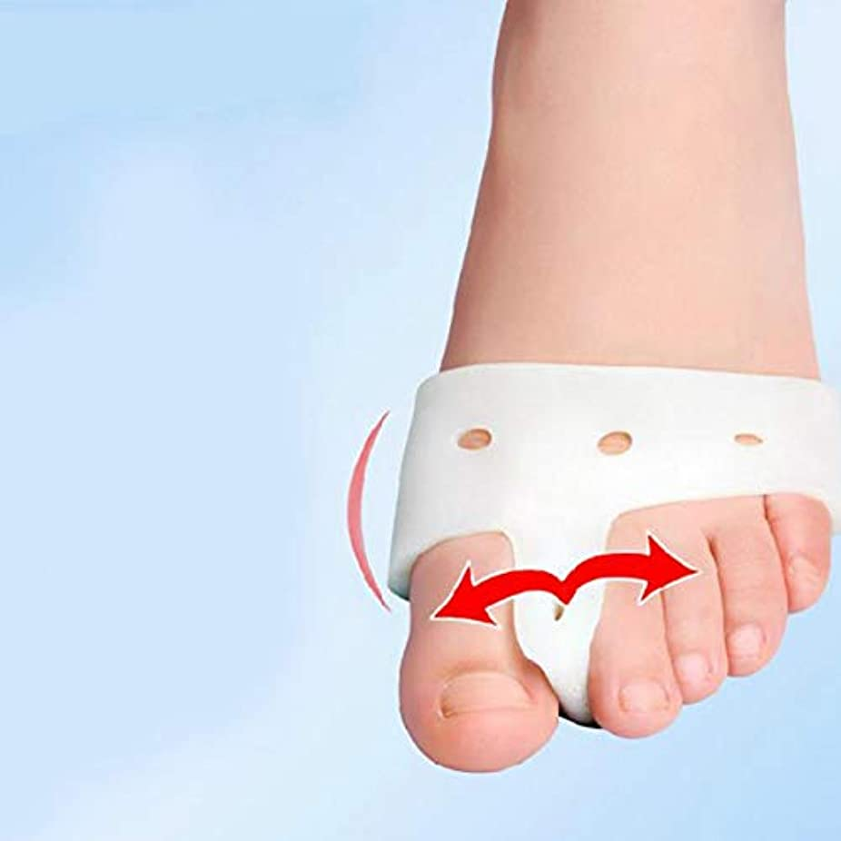 ゴールテニス何もないBunion Corrector Foot Care Toe Aligner Orthosis Seperator Separation Toe Design Comb Toe Correction Overlapping...