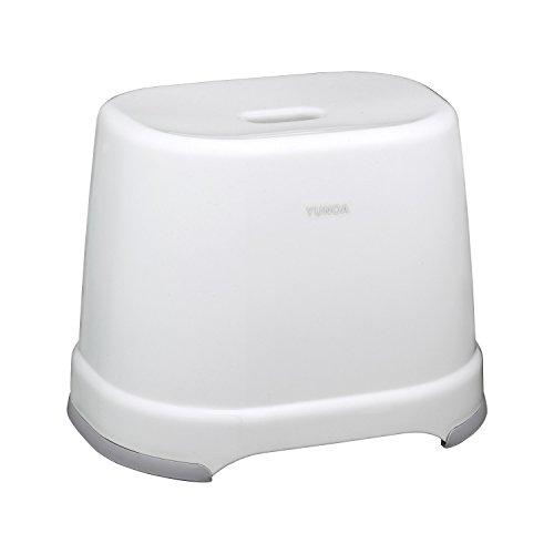 レック YUNOA (ユノア) 風呂いす 高さ28cm (ニューホワイト) 防カビ ・ 抗菌 BB-108