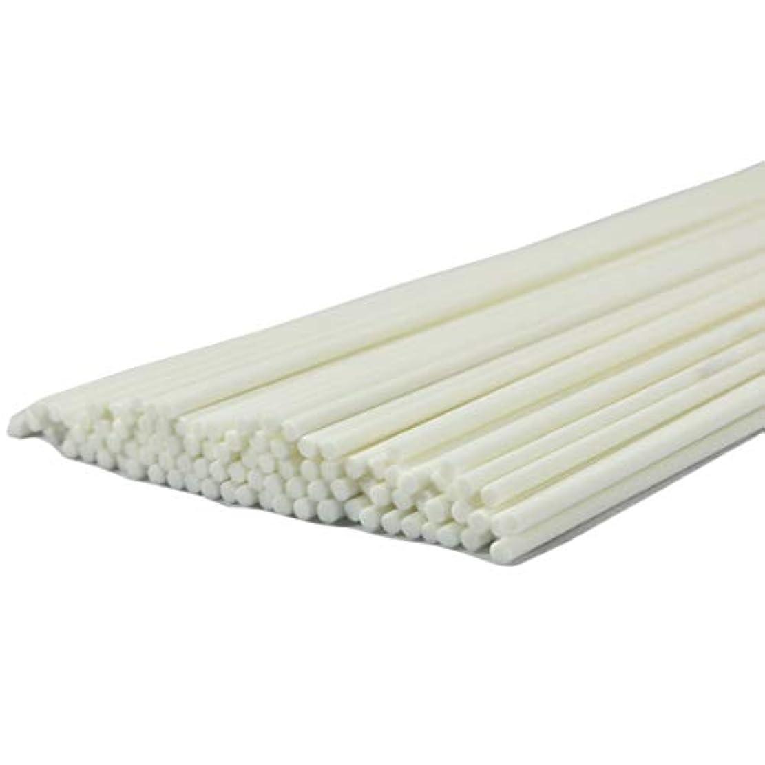 記述する風邪をひくひどく50本入アロマファイバーディフューザー交換用スティック(30cm*4mm,白)