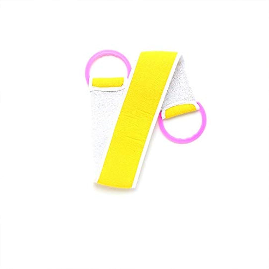アンケート郵便番号負荷Swiftgood マイクロファイバーグラファイトバックスクラバー、厚手の両面バックマッドタオルロングストリップバスタオル