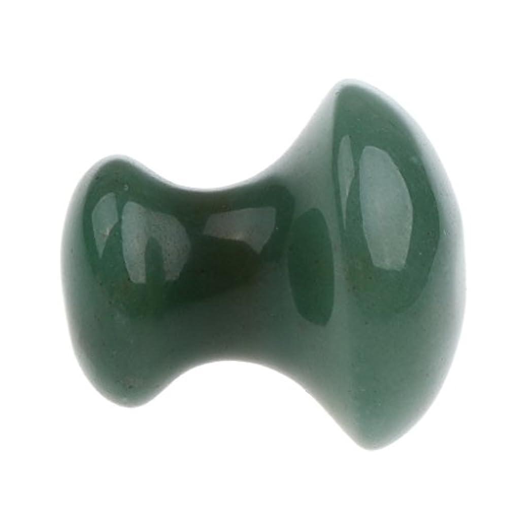 明るくする蛇行兵士ヘッドマッサージストーン ヘッド マッサージ ストーン 美容 マッサージ マッシュルーム ヘッドマッサージ 石 2色選べる - 緑