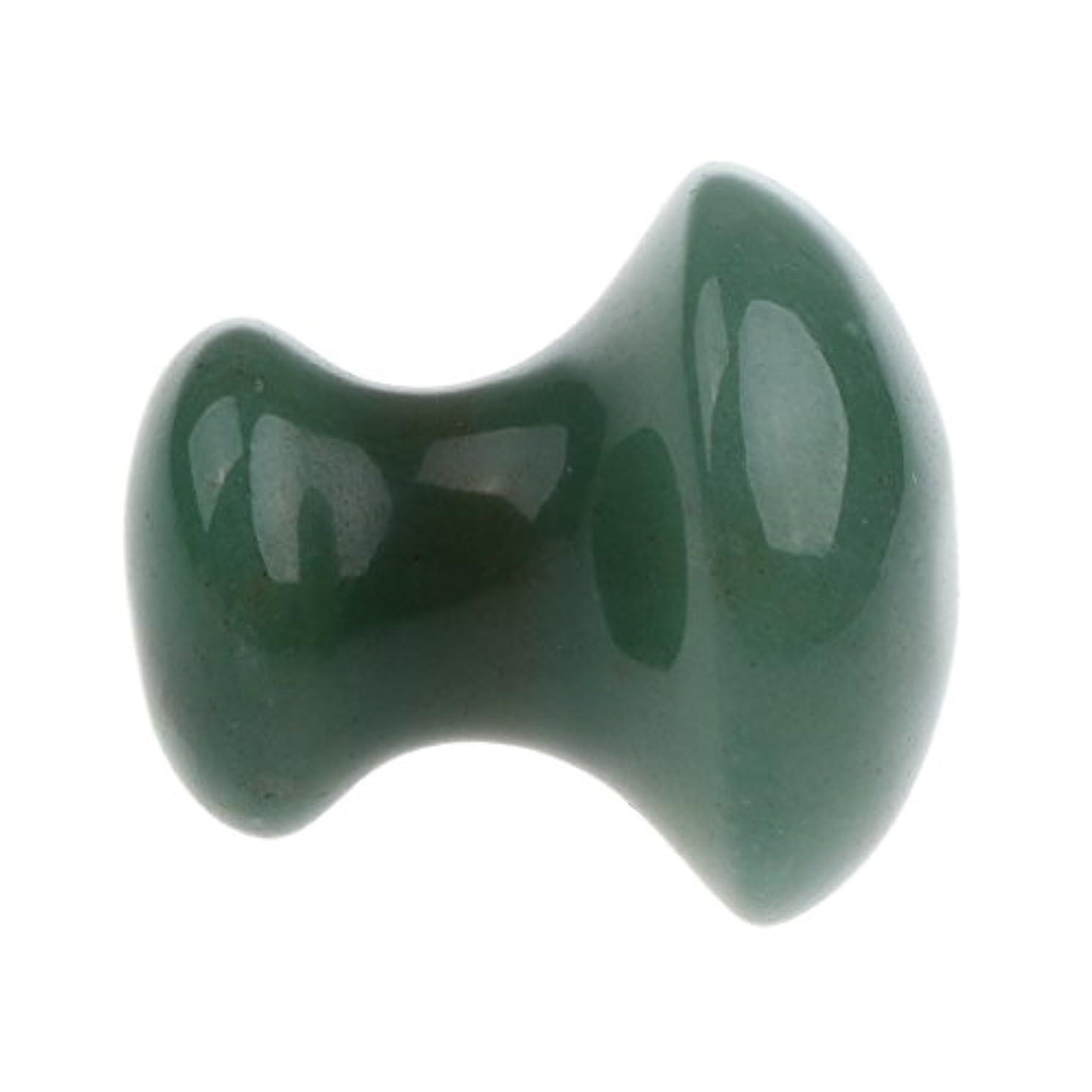 懐疑論ナットどういたしましてヘッドマッサージストーン ヘッド マッサージ ストーン 美容 マッサージ マッシュルーム ヘッドマッサージ 石 2色選べる - 緑