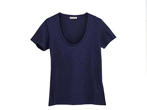 [モンクレール]MONCLER Tシャツ 80672 00 82857 2018年春夏 半袖 780 NAVY size-S [並行輸入品]