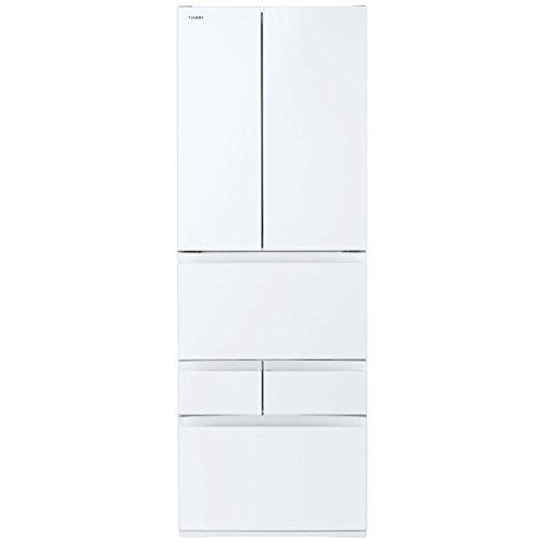 東芝 冷凍冷蔵庫 VEGETA 509L クリアシェルホワイトGR-K510FD(ZW)