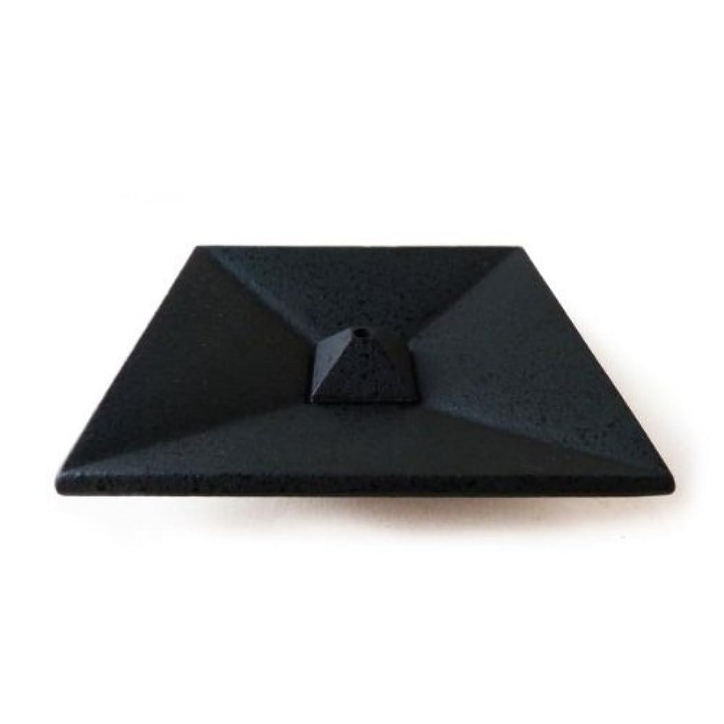 ご覧くださいかまど無駄な香皿 四角折