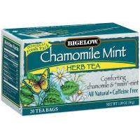 Bigelow Tea - ハーブ茶Chamomileのミント - 1ティーバッグ