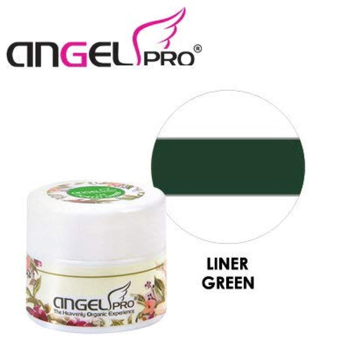 締め切り変色するアルバニーANGEL PRO ポットジェリー LINER GREEN 4g