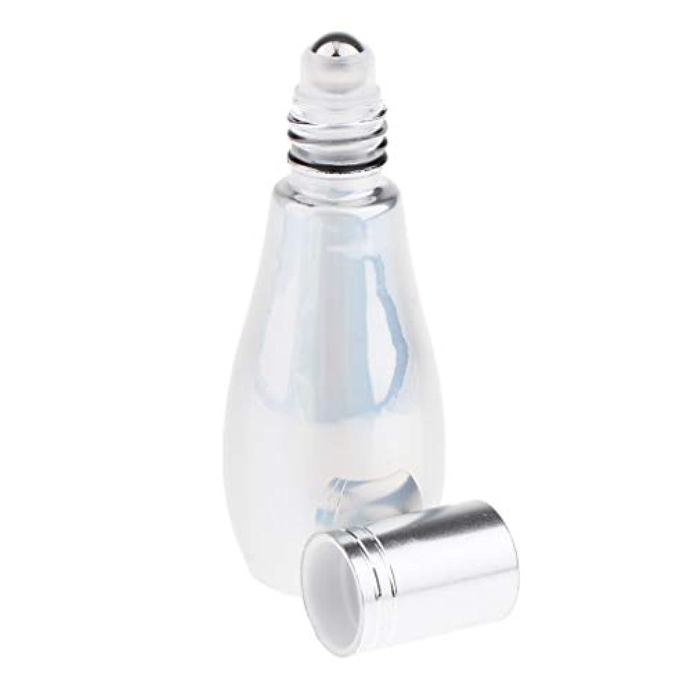 天窓メタルライン計器DYNWAVE ローラーボール 香水 再使用可能な ガラス 小分けボトル エッセンシャルオイル容器 全2タイプ - ローラー