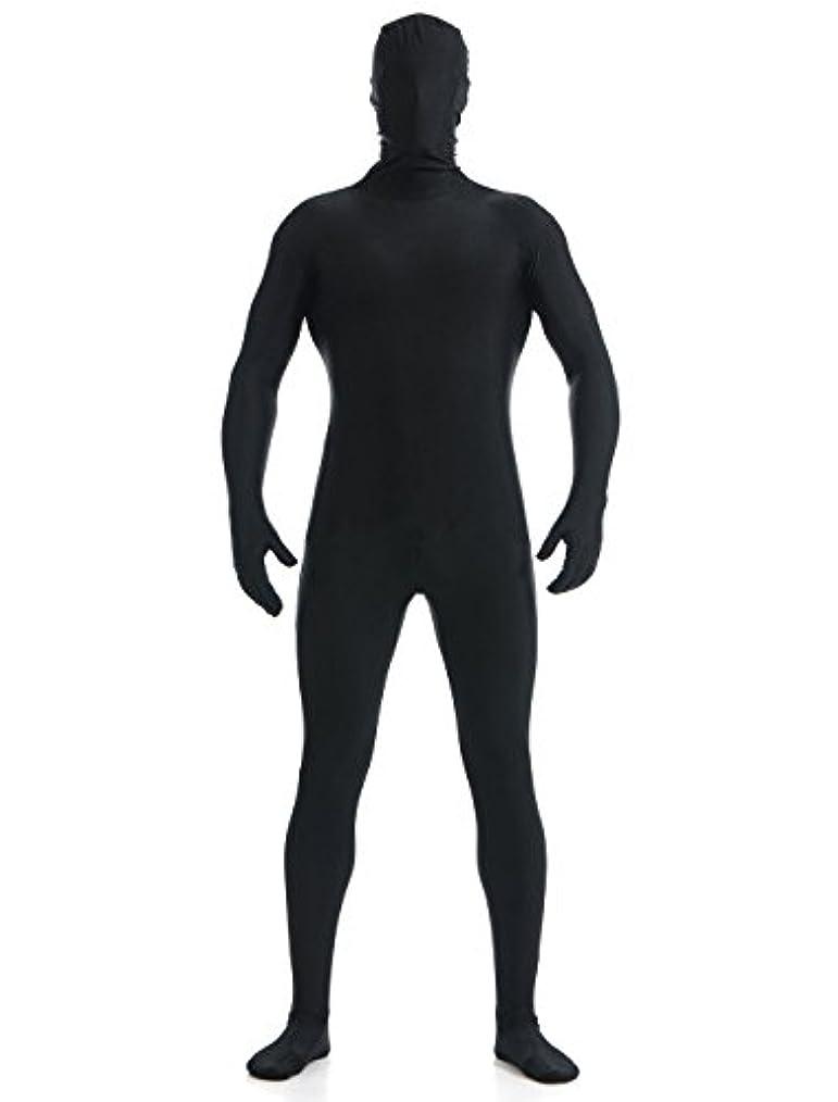ギャラントリー暫定の提供するYUUWA 全身タイツ コスチューム ブラック メンズ Mサイズ