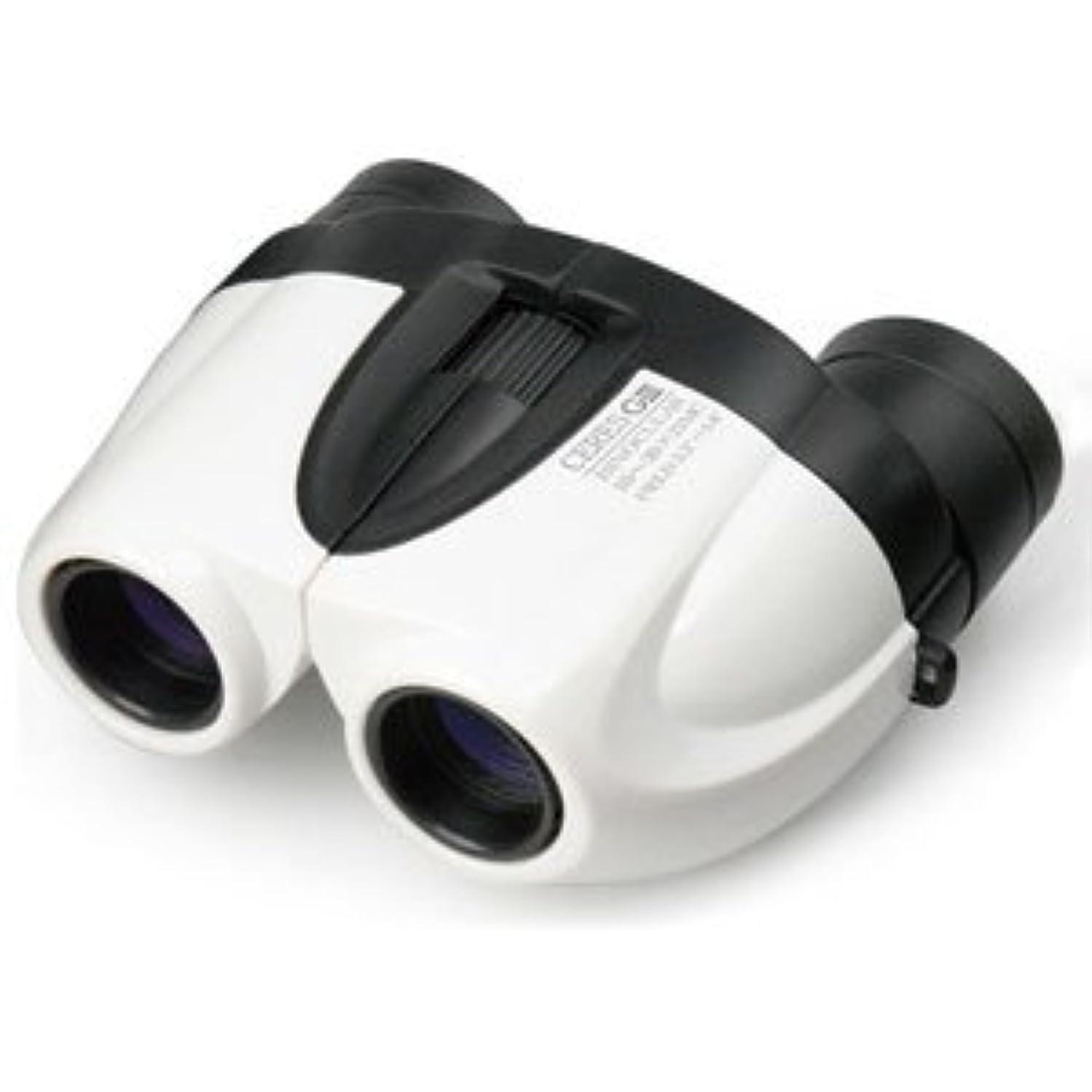 アッパーすぐに曲ケンコー 双眼鏡「セレス-GIII 10-30×21 ホワイト」(倍率10?30倍) セレスG3/10-30X21