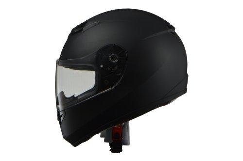 リード工業 バイクヘルメット フルフェイス STRAX マットブラック LLサイズ 61-62cm未満 SF-12
