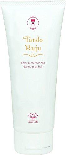 タンドルージュ 白髪専用 カラーバタートリートメント ダークブラウン ジアミン不使用